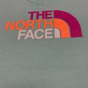 The north face v-neck tee